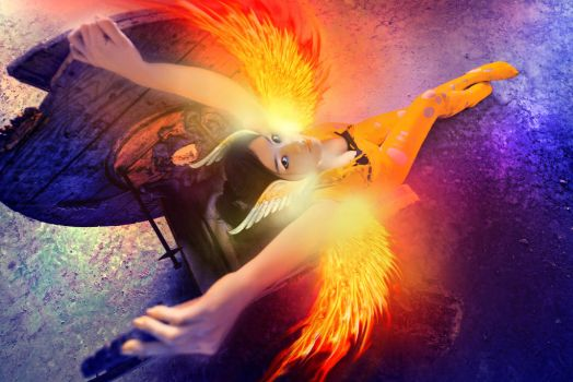 I'm Fire Pheonix by DawnRoseCreation