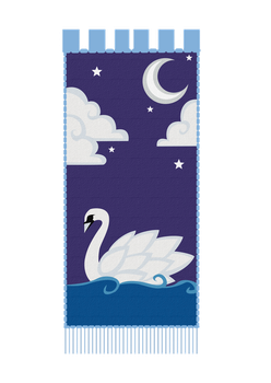 Hinterban Design - Swan Tapestry by Symphan