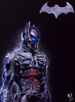 The Arkham Knight by artistdude1013