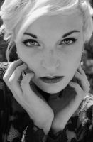Molli Black and White by SeriLeigh