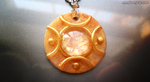 Sunfire Faux Opal Pendant by ShinyCation