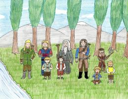 The Fellowship of the Ring - Finished by PseudonymousRMY