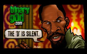 The D is Silent (Django Unchained) by b1naryg0d