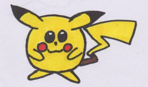 Pikachu ball by Piplup88908