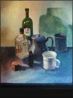 Still Life painting by Saran09