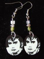 Doctor Who Earrings by Mazzi294
