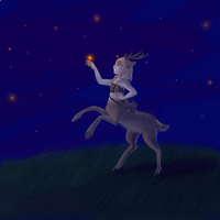 Chasing Fireflies by littlerabbitkid