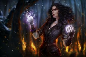 Yennefer by AnnaHelme