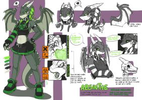 Character Ref - Absinthe by EMP-83