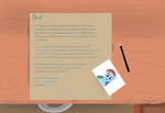 My Little Dashie - Letter warning spoiler by cipherpie