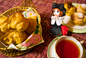 PaperChild French Tea Time by ryu-yo