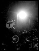 T Stop Sign - Part Three- by deadserenity