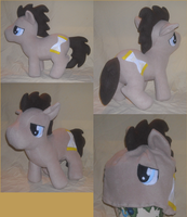 Dr. Whooves MLP Hat and Plush Set by ShopOfMinerva