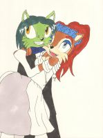 Sally and Envy's Wedding Day by Aurora-ASB