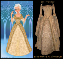 Model Challenge #5 Belle of the Ball by EchoesOfAnEnigma