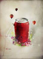 Cola Flowers by LuXo-Art