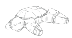 Raph - Bound puppy by Neos-mies