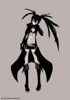 +Black Rock Shooter+ BRS by ikarisu