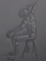 Figure Drawing #54 by AngelGanev