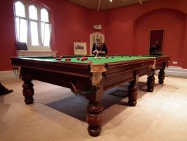 billiard table by harrietbaxter