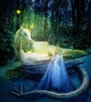 Snow Queen & the White Dragon by jonrek2014