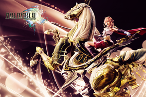 FF XIII Lightning Summon by CrossDominatriX5