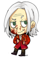 Alexander chibi commission by Mafer
