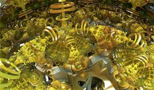 yellow ring balls by Andrea1981G
