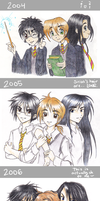 Timeline - HP trio by Sadyna