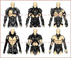 Armor Designs - Incubi by dark-sheikah