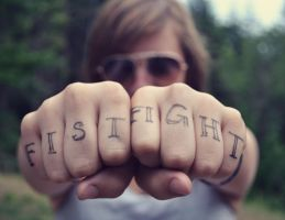 Fist Fight by MollyRai