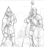 Celtic Warriors by Taaks