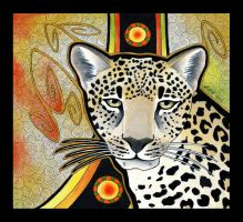 Arabian Leopard as Totem by Ravenari