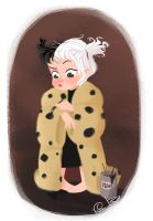 Little Villain Cruella de Vil by Vijolea