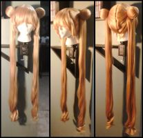 Commission: Sailor Moon Wig by Antiquity-Dreams