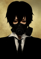 Mr. Gasmask by reddii