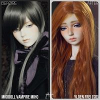 Before and After BJD Meme 2014: Frei [SD] by Ylden