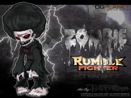 Zombie Rumble Fighter Poster by Darkness1999th