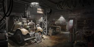 The Garage by AlexJJessup