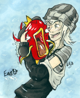 East and his 'Karp by Mazilw0lf