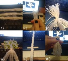 Yarn Tail Tutorial: Base by SlendyIsMyPal