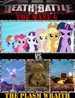 The Mane 6 VS. The Plasm Wraith by Grimmjow-thesexta