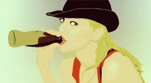 Brittany Murphy vector 2.0 by qxo