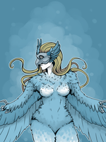 Masked Harpy by Dreamer-T
