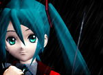 : MMD : when it rains by PuniPudding