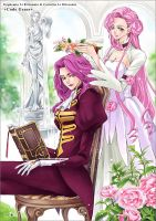 Euphemia+Cornelia _Code Geass by smallw