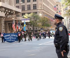 Columbus Day Parade - NYC Cop by mcbarker