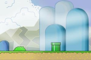 Calm Super Mario World by PurplePeach87