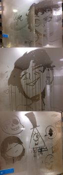 Steamy Mirror by TheGoldenMember123