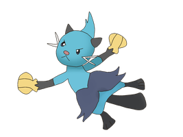 008 Dewott in The Anime by Pokekawaii